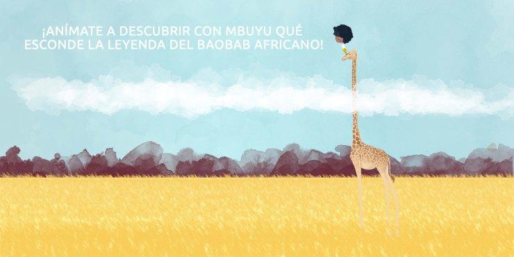 mbuyu y la jirafa - aímate con Mbuyu 2