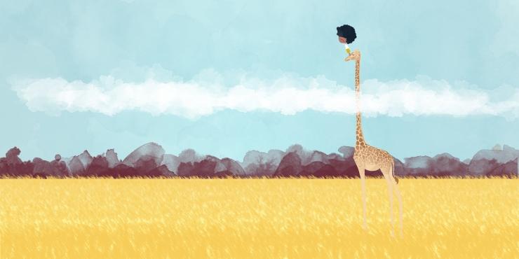 mbuyu y la jirafa - asociacion mbuyu