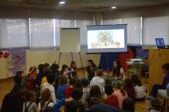 Taller Cuentacuentos en la Biblioteca Municipal de Arroyomolinos